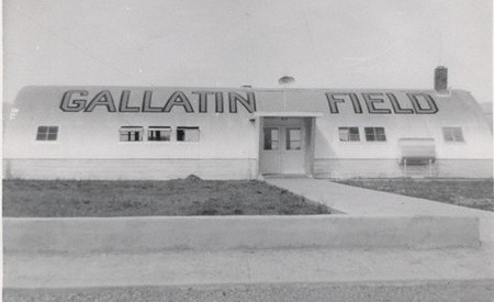 Gallatin Field in the 1940s