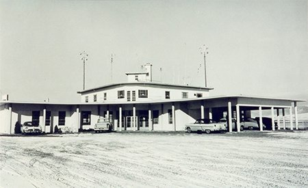 Airport Administration Building, circa 1950s