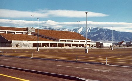 Gallatin Field circa 1970s