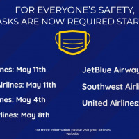 Airline Mask Start Date